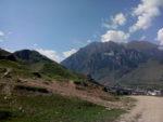 Круговая панорама на вершине Суганского перевала