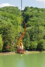 Отдых в Нальчике. Атажукинский сад. Подъем на канатке на гору